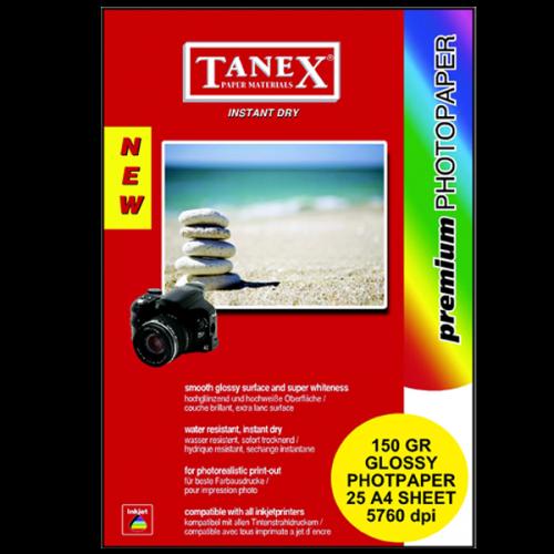 Tanex Fotoğraf Kağıdı 25 Lİ A4 150 GR