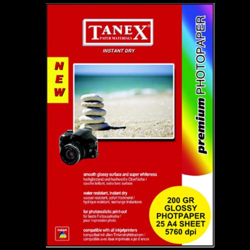 Tanex Fotoğraf Kağıdı 25 Li YP A4 200 GR