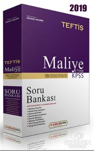 Teftiş Maliye Vergi Hukuku Soru Bankası KPSS A Grubu ve Kurum Sınavları İçin Kamupark Yayınları 2019