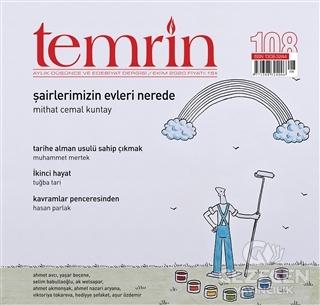 Temrin Aylık Düşünce ve Edebiyat Dergisi Ekim 2020 Sayı: 108