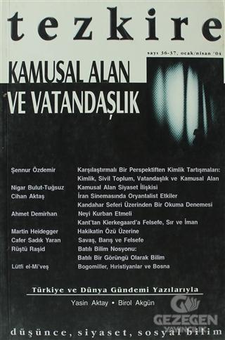 Tezkire Dergisi Sayı: 36 - 37