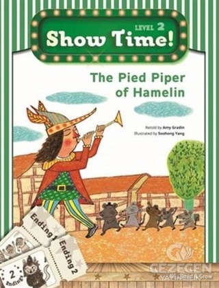 The Pied Piper of Hamelin + Workbook + MultiROM; Show Time Level 2