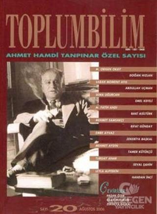 Toplumbilim Sayı: 20 Ahmet Hamdi Tanpınar Özel Sayısı