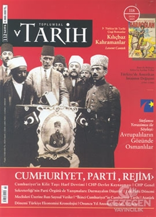 Toplumsal Tarih Dergisi Sayı: 118