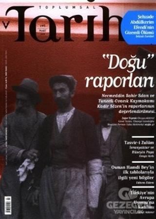Toplumsal Tarih Dergisi Sayı: 195