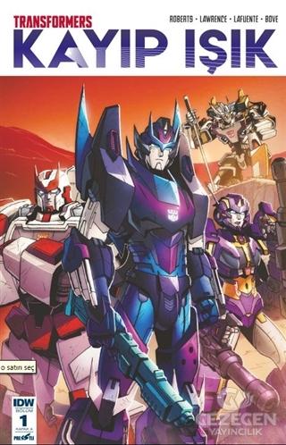 Transformers Kayıp Işık Bölüm 1 Kapak A