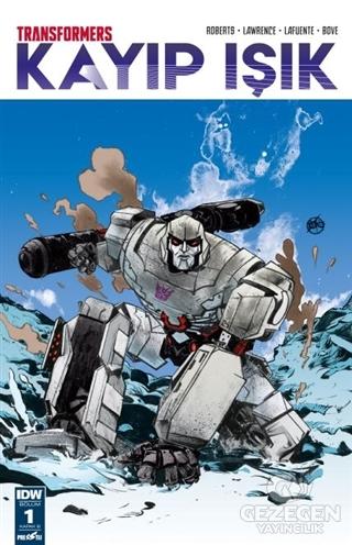 Transformers Kayıp Işık Bölüm 1 Kapak B