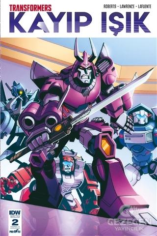 Transformers Kayıp Işık Bölüm 2 Kapak A