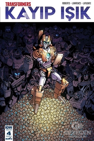 Transformers - Kayıp Işık (Bölüm 4 Kapak A)