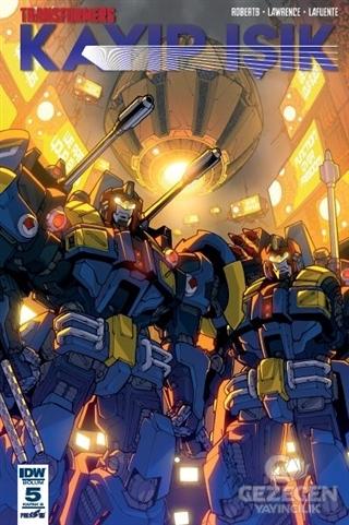 Transformers Kayıp Işık Bölüm 5 (Kapak B)