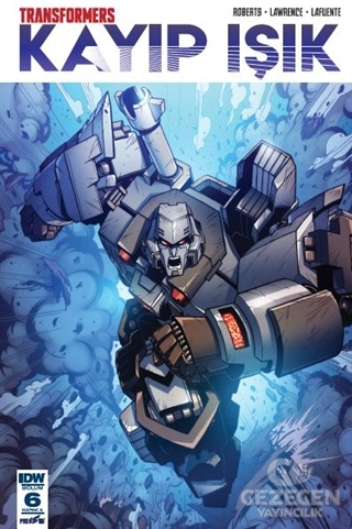 Transformers Kayıp Işık Bölüm 6 (Kapak A)