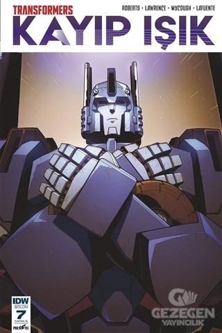 Transformers Kayıp Işık Bölüm 7 (Kapak B)