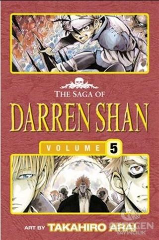 Trials of Death - The Saga of Darren Shan 5 (Manga edition)