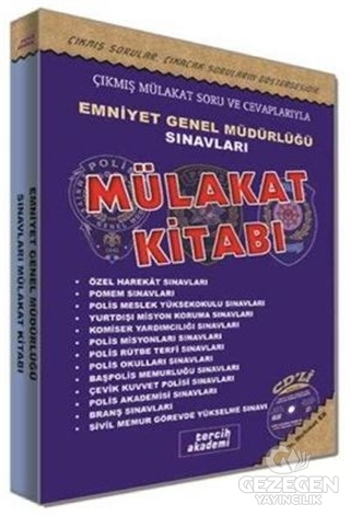Tercih Akademi Yayınları Emniyet Genel Müdürlüğü Sınavları Sonrası Mülakat Kitabı