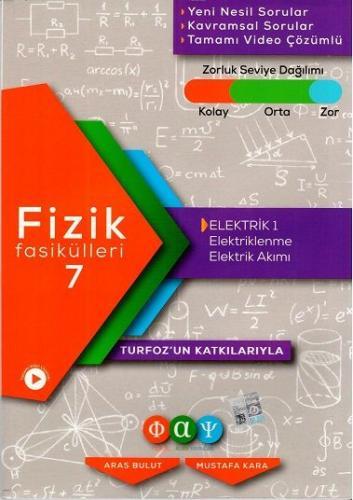Turfoz Fizik Fasikül 07 - Elektik 1 - 2020