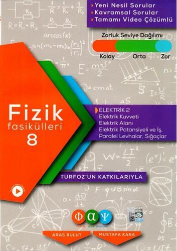 Turfoz Fizik Fasikül 08 - Elektik 2 - 2020