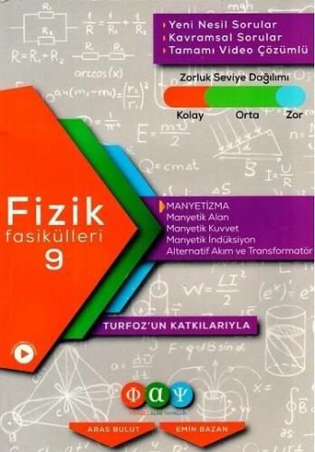 Turfoz Fizik Fasikül 09 - Manyetizma - 2020