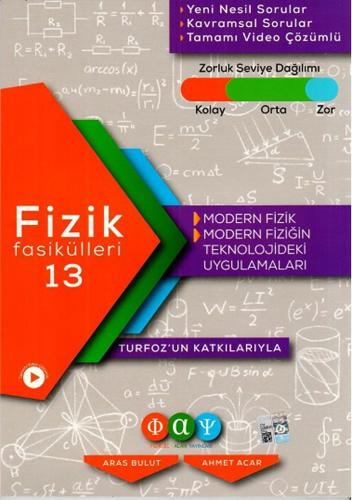 Turfoz Fizik Fasikül 13 - Modern Fizik - 2020