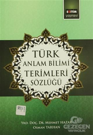 Türk Anlam Bilimi Terimleri Sözlüğü