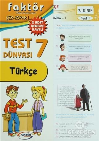 Türkçe 7. Sınıf Çek Kopar Yaprak Test