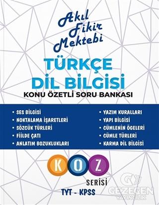 Türkçe Dil Bilgisi Konu Özetli Soru Bankası