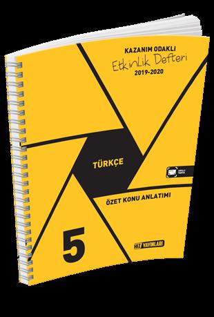5.Sınıf Türkçe Özet Konu Anlatımlı Etkinlik Kitabı