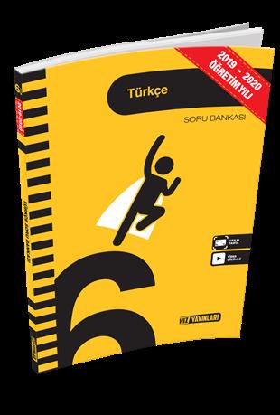 Hız Yayınları 2020 6. Sınıf Türkçe Soru Bankası Hız Yayınları