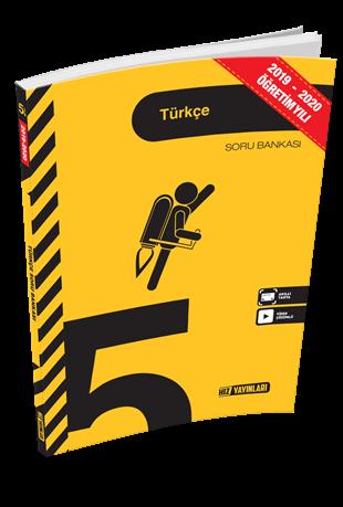 Hız Yayınları 2020 5. Sınıf Türkçe Soru Bankası Hız Yayınları
