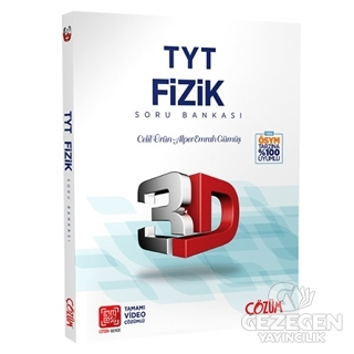 TYT 3D Fizik Soru Bankası