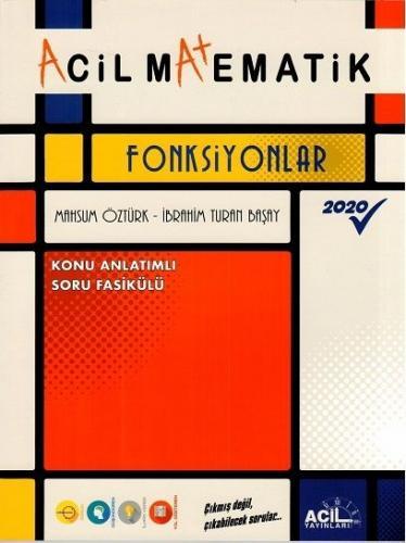 Acil Yayınları TYT Matematik Acil Fonksiyonlar Acil Yayınları