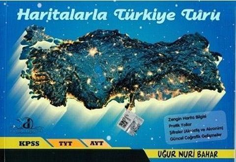 TYT-AYT Haritalarla Türkiye Turu 2019