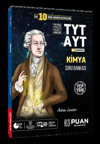 Puan YKS TYT AYT Kimya Zor Soru Bankası Puan Yayınları