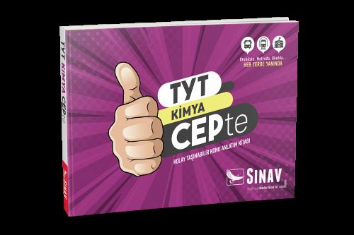 Sınav YKS TYT Kimya Konu Anlatımlı Cep Kitabı Sınav Yayınları