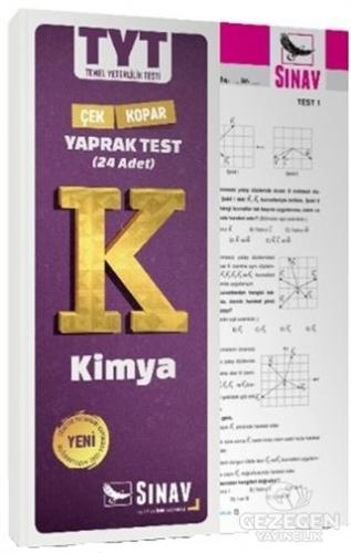 Tyt Kimya Yaprak Test