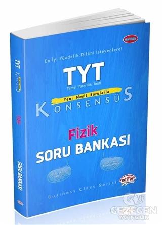 Editör YKS TYT Konsensüs Fizik Soru Bankası Editör Yayınları
