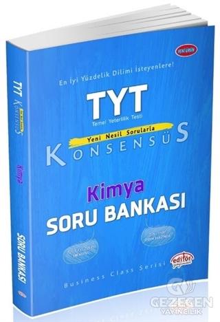 Editör YKS TYT Konsensüs Kimya Soru Bankası Editör Yayınları