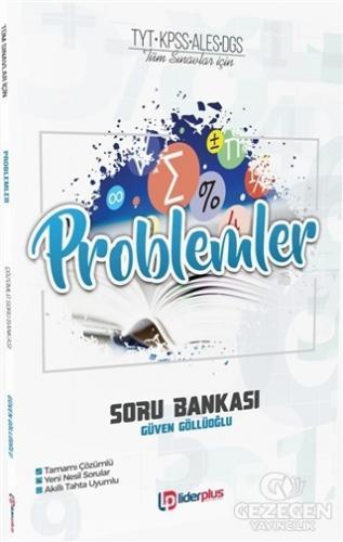 TYT KPSS ALES DGS Tüm Sınavlar İçin Problemler Soru Bankası   Lider Plus Yayınları