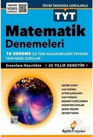Aydın Tyt Matematik 10 Deneme