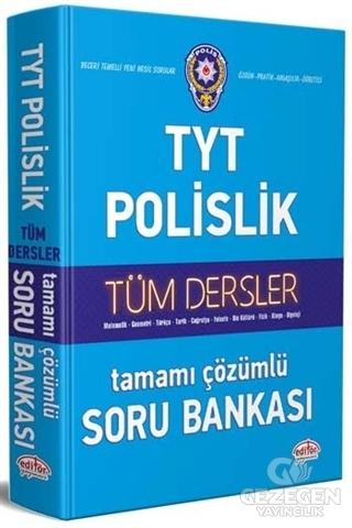 TYT Polislik Tüm Dersler Tamamı Çözümlü Soru Bankası