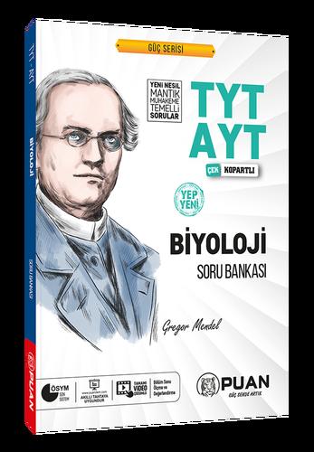 Puan YKS TYT AYT Biyoloji Soru Bankası Video Çözümlü Güç Serisi Puan Yayınları