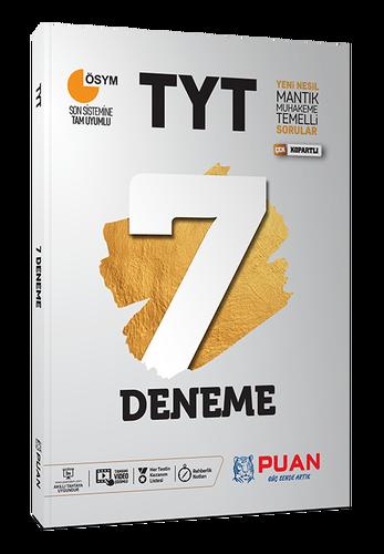 Puan YKS TYT 7 Deneme Video Çözümlü Puan Yayınları