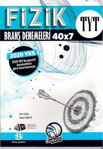 Bilgi Sarmal 2020 YKS TYT Fizik 40x7 Branş Denemeleri Video Çözümlü Bilgi Sarmal Yayınları