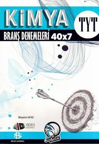 Bilgi Sarmal 2020 YKS TYT Kimya 40x7 Branş Denemeleri Video Çözümlü Bilgi Sarmal Yayınları