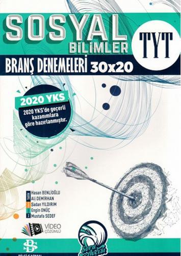 Bilgi Sarmal 2020 YKS TYT Sosyal Bilimler 30x20 Branş Denemeleri Video Çözümlü Bilgi Sarmal Yayınları