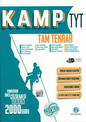 Bilgi Sarmal 2020 YKS TYT Kamp Tam Tekrar Video Çözümlü Bilgi Sarmal Yayınları