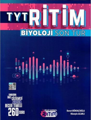 Bilgi Sarmal YKS TYT Biyoloji Ritim Son Tur Bilgi Sarmal Yayınları