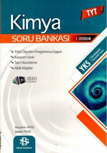 Bilgi Sarmal YKS TYT Kimya Soru Bankası Video Çözümlü Bilgi Sarmal Yayınları