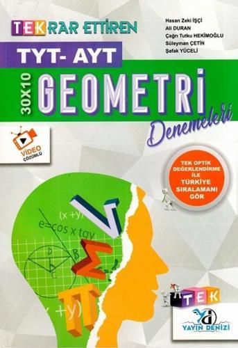 TYT Tek Deneme Geometri  (30*10) - 2020