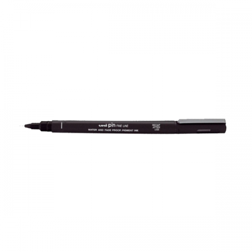 Uni-Ball Çizim Kalemi Akrilik Uçlu Fine Line Pin 0.1 MM Siyah PIN 01-200(S)