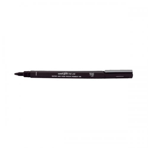 Uni-Ball Çizim Kalemi Akrilik Uçlu Fine Line Pin 0.2 MM Siyah PIN 02-200(S)